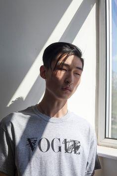koreanmodel:  Kim Sang Woo forMichael Agwunobi lookbook