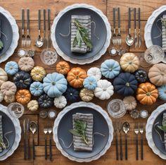Table inspirée de Thanksgiving réalisée à Los Angeles