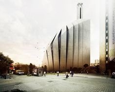 Severe, stark, unfolding and amazing...Central Mosque of Pristina Competition Entry / Tarh O Amayesh