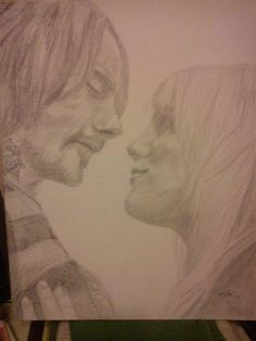 Lovers - Sketching by Michael Gardner in Commissions at touchtalent
