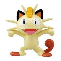 9.99 It's the money-loving cat-like Pokemon, Meowth, as an adorable 2-inch mini-figure! This Pokemon Monster Collection M-070 Meowth 2-Inch Mini-Figure