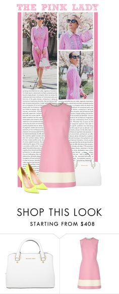"""""""#1332 (Street Style)"""" by lauren1993 ❤ liked on Polyvore featuring Oris, Michael Kors, Fendi and Christian Louboutin"""