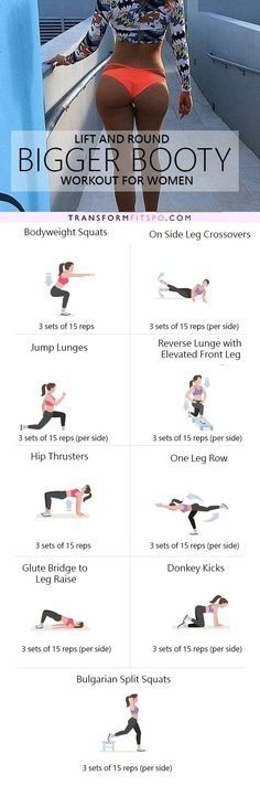 Repin and share if this workout lifted and grew your booty! Read the post for all the info!
