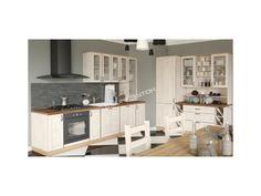 Veľkolepá kuchynská zostava ROYAL navrhnutá v provensálskom štýle s možnosťou ľubovoľného vyskladania skriniek, presne tak ako Vám to vyhovuje.