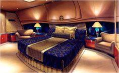 Luxury aircraft interiors