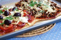 Pizza sem carboidratos? - LCHF