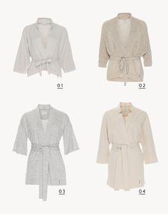 Die Garconne Jacke und Hülle für den Sommer: Im Kimono Stil.