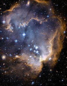 Infant Stars Nebula 11x14 inch Hubble by DeepSpacePhotography, $12.00