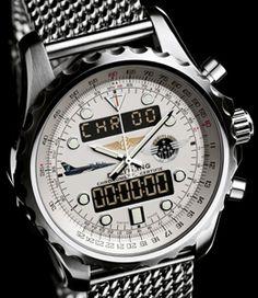 "Breitling Chronospace ""Breitling Jet Team"" Limited Edition | Horloge.info"