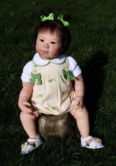 Babies Amazing Reborn Adrie Stoete Shao Gorgeous Toddler Girl