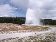 Old Faithful Geyser, Yellowstone National park is filled top to bottom and side to side with the broadest array of natural wonders in close proximity to each other than anywhere else on earth.