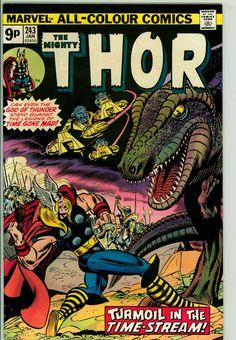 Thor 243 (VF- 7.5) pence