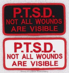 Hottest Free of Charge PTSD Not All Wounds Are Visible Service Dog Patch Size inch Danny & LuAnns Embroidery Suggestions A lot of stress as opposed to Lust – is learning to sew so difficult? I first attempted to show