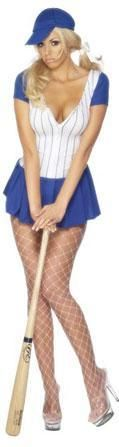 Sexy Baseball Player Fancy Dress Costume