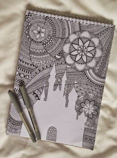 zentangle-doodle art