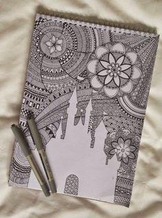 zentangle-doodle art