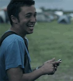Here is Tyler laughing, have a good day