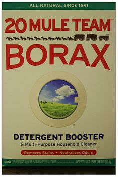 Enter to win a box of Borax. #Giveaway ends 8/9