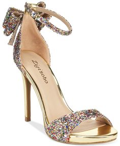 Zigi Soho Remi two-piece dress sandals — the perfect prom night shoe to help you dazzle and dance all night long!