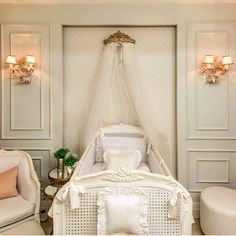 Ver esta foto do Instagram de @mjarquitetura • 218 curtidas Baby Bedroom, Baby Room Decor, Girls Bedroom, Nursery Decor, Bedroom Decor, Luxury Nursery, Princess Nursery, Baby Canopy, Interior Exterior