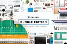 Custom Scene - Bundle Edition https://creativemarket.com/romanjusdado/317262-Custom-Scene-Bundle-Edition