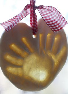 Make Salt Dough Handprint Ornaments to document those cute chubby hands. A great gift to give the grandparents or a fun classroom project for young kids. Christmas Crafts For Kids, Holiday Crafts, Holiday Fun, Fun Crafts, Christmas Holidays, Christmas Gifts, Arts And Crafts, Christmas Ornaments, Christmas Ideas