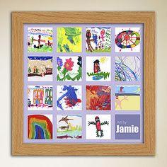 Children's Art Portfolio Posters