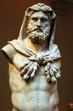 GREECE CHANNEL |  Famous Greek God Statues | greek statues...Heracles