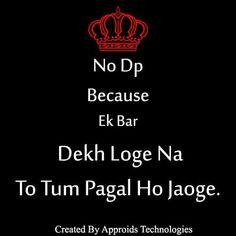 Haan pagal ho jaoge 😜 is part of Funny attitude quotes - Funky Quotes, Swag Quotes, Crazy Quotes, True Love Quotes, Girly Quotes, Quotes In Hindi Attitude, Attitude Quotes For Boys, Funny Dp, Cute Funny Quotes