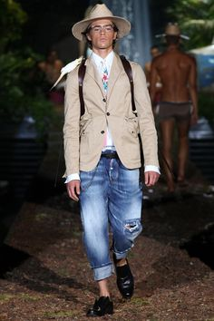 Dsquared² | Spring 2014 Menswear Collection | Style.com