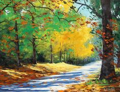 Graham Gercken 1960   Australian Impressionist Landscape painter