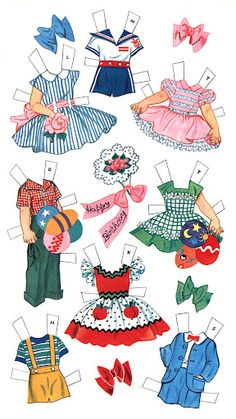 Paper Dolls~Birthday Party - Bonnie Jones - Picasa Web Albums