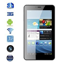 Christmas Gift 7 Inch 3g Mobile Phone Call Mtk6572 Dual Core Android 4.2 Tablet Pc 512mb Ram 4gb Bluetooth GPS Dual Sim Slot Wcdma Tbalets Pcs(get free power) - Introducing new arrival E-Passion 3G Android Tablet with 7 Inch Screen, Phone Function, Dual Core CPU and 4GB Memory. Browse the web, call, text and much more with this large phablet. Android Tablets are great but what's even greater is an Android Tablet that can call, text and surf the... - http://ehowsuperstor
