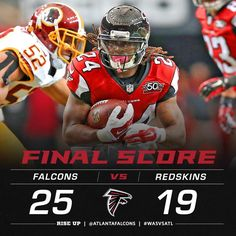 What a game!! Falcons get the win in overtime and are now 5-0! #WASvsATL #RiseUp #Falcons