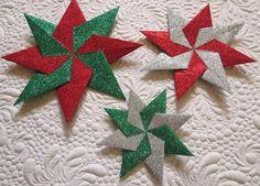 Geta's Quilting Studio: Paper Stars