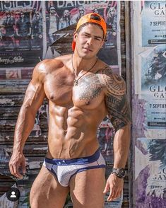 Exercises fоr Women tо Get а Six Pack Hot Guys Tattoos, Boy Tattoos, Muscle Hunks, Muscle Men, Inked Men, Hommes Sexy, Raining Men, Shirtless Men, Male Physique