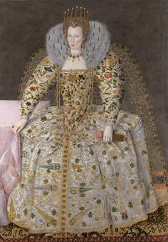 English School, circa 1595-1605 - Portrait of a lady, traditionally identified as Queen Elizabeth I, but more probably Catherine Carey, Countess of Nottingham