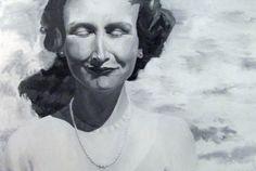 Evelyn 2012 oil on canvas Helena Leslie