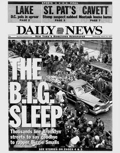 """Back in the Days... """"THE BIG SLEEP"""", 3.19.97.was one of the worst days in Brooklyn New York we lost Biggie New Hip Hop Beats Uploaded EVERY SINGLE DAY http://www.kidDyno.com"""