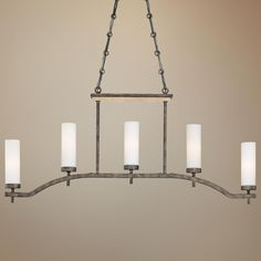 "Compositions 42"" Wide 5-Light Island Chandelier -"