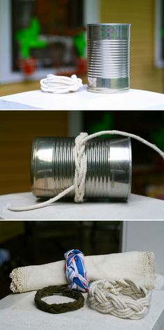 DIY: sailor's knot bracelets.