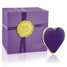 Coeur vibrant pour couple en Violet, Rose ou Corail, de Rianne S.