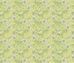 [Shirt] Succulents fabric by oksancia on Spoonflower - custom fabric