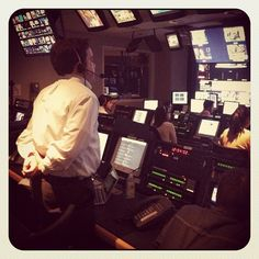 """The @cnbc Control room as ARNA news of FDA approval breaks"""