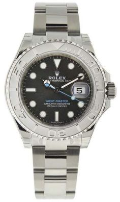 Rolex Yachtmaster 116622 Steel and Platinum Automatic 40mm Mens Watch. Rolex mens watches for professionals are authentic rolex, either they prefer black rolex or gold rolex watch.