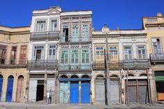 Rio de Janeiro, Brasil - casario da Gamboa