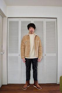 Y's Wardrobe: [YOUNG&OLSEN RussellMoccasin]レザーパンツとロックと氷室京介!?