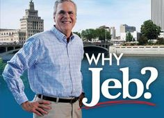 'Why, Jeb?' Pro-Bush Iowa pamphlet gives candidate one black hand   US news   The Guardian