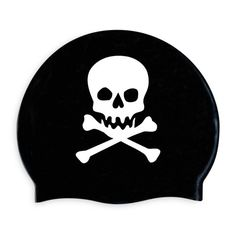 Silicon swim cap that Izzie would love, especially because Brayden is into pirates!