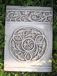 NEW plaster,concrete abs plastic circular knotted celtic decor mold Decorative Concrete Blocks, Decorative Boxes, Celtic Decor, Concrete Pavers, Celtic Knot, Plaster, Knots, Abs, Landscape